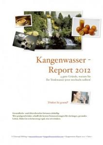 Kangenwasser-Report 2012