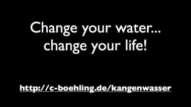 Wasserqualität = Lebensqualität